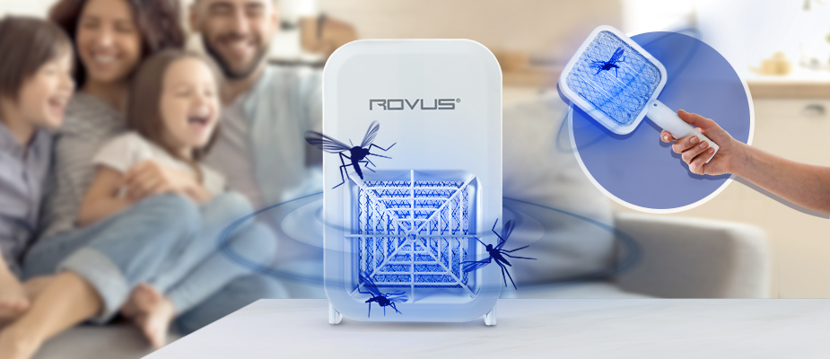 Lampa anti-insecte 2in1 Rovus