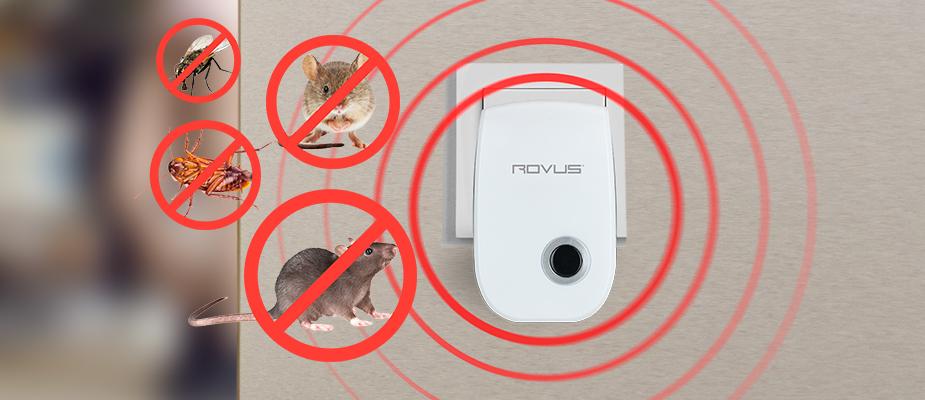 NOU! Dispozitiv impotriva daunatorilor Pest Repeller