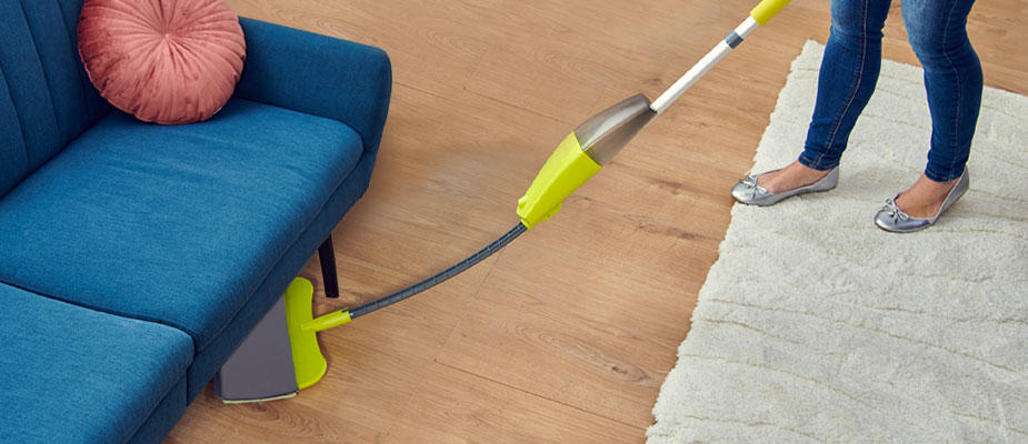 NOU! Mop cu pulverizare Flat&Flexible