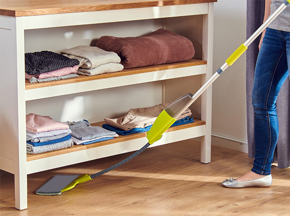 Mop cu pulverizare Rovus Flat&Flexible